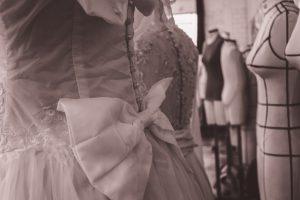 Robe de mariée - essayage